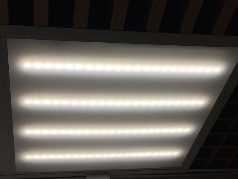 Светильник LED Avrora Opal 32Вт 4000К 3600 Лм 588х588мм