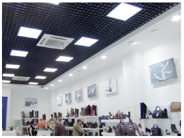 Светильник LED Avrora Opal 32Вт IP40 4000К 3500лм 603x603x25мм / 595х595x25мм