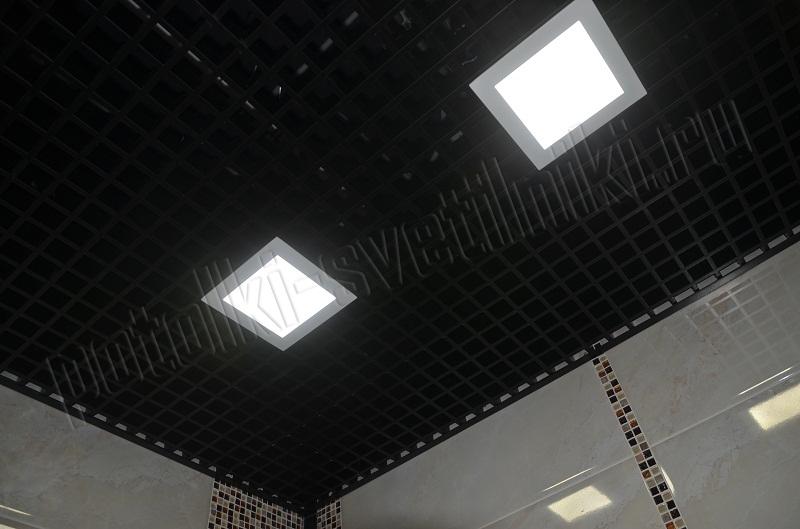 Светильник ультратонкий LED 15Вт 4000-4500K 200x200мм