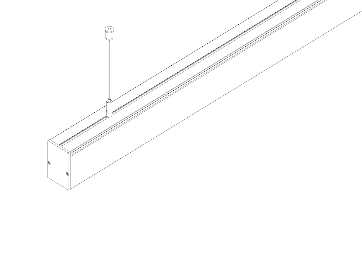 Комплект тросовый SW-006 (2 шт) для светильников FLORA или VOLGA EU