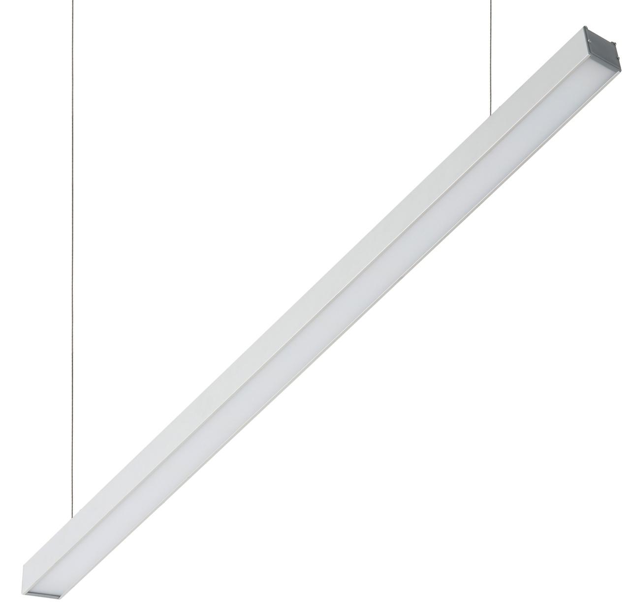 Светильник LED Laura Opal 76Вт 4000К 6800Лм 2420x50x50мм