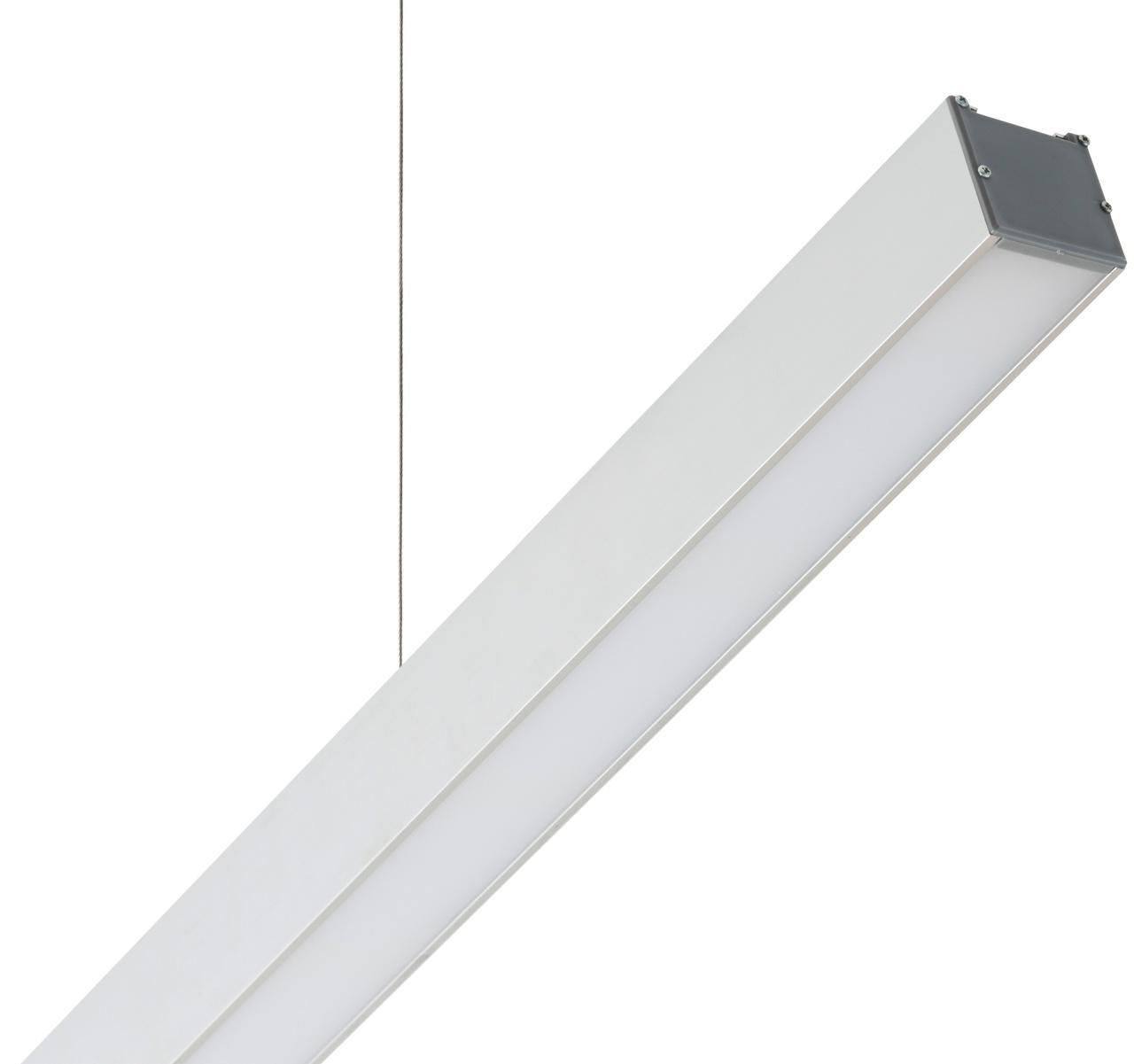 Светильник LED Laura Opal 76Вт 4000К 6800Лм 2420x50x50мм доп. вид