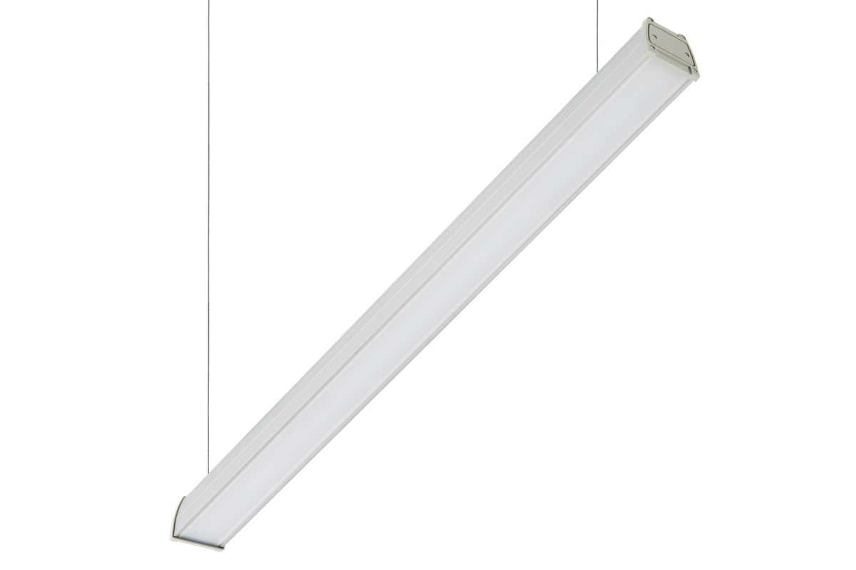 Светильник LED Lira Opal 76Вт IP54 4000К 7800лм 1250х87х80мм