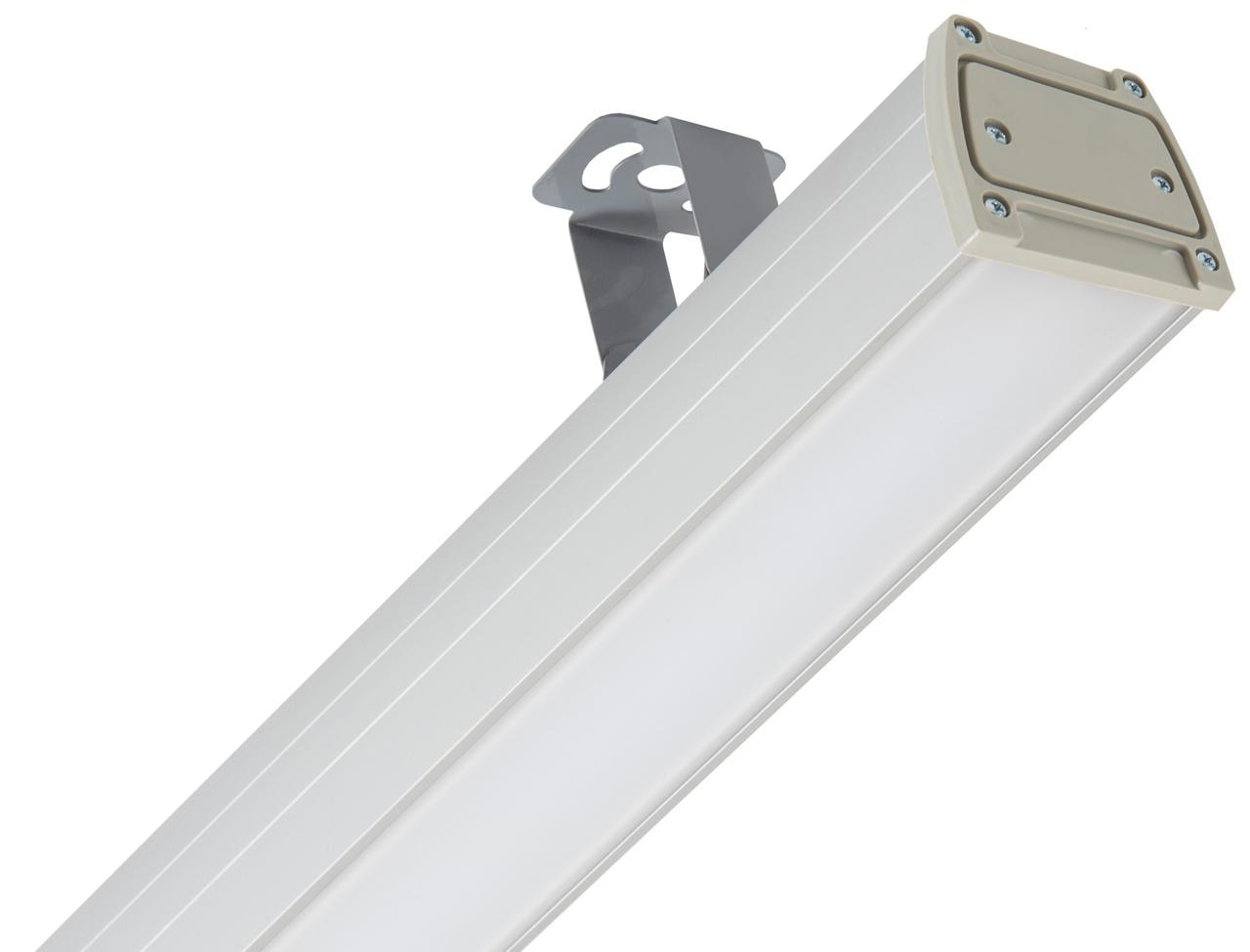 Светильник LED Lira Opal 76Вт IP54 5000К 7800лм 1250х87х80мм доп. вид