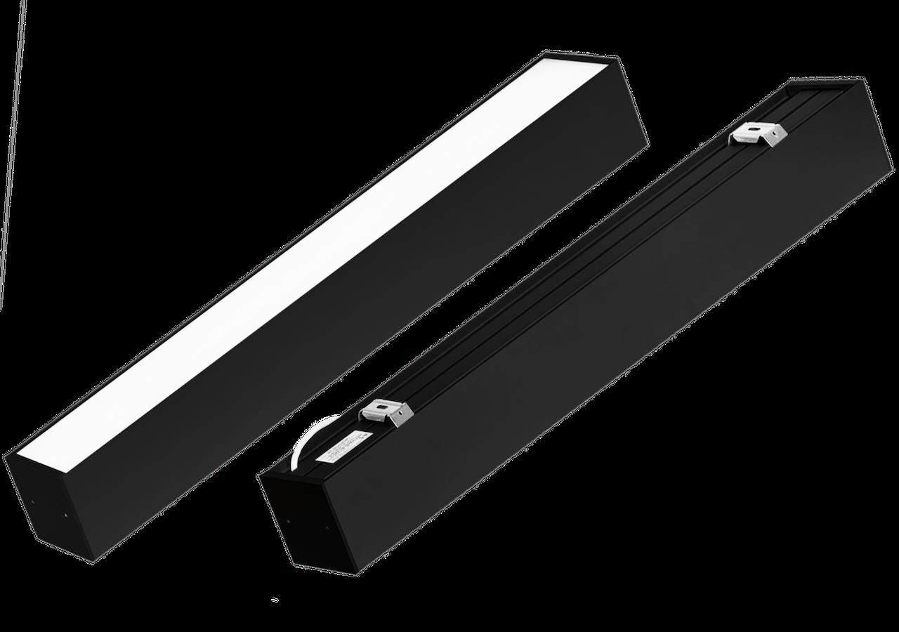 Светильник CSVT FLORA-100 Opal 18Вт IP40 790x100x90мм черный