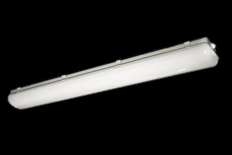Светильник CSVT Айсберг MILKY 38Вт IP65 1270x152x100мм
