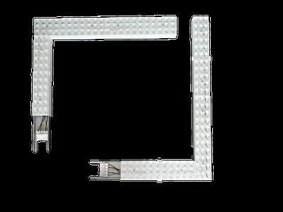 Соединительный элемент CSVT VOLGA-EU/L 38Вт IP40 110°угловойлевый