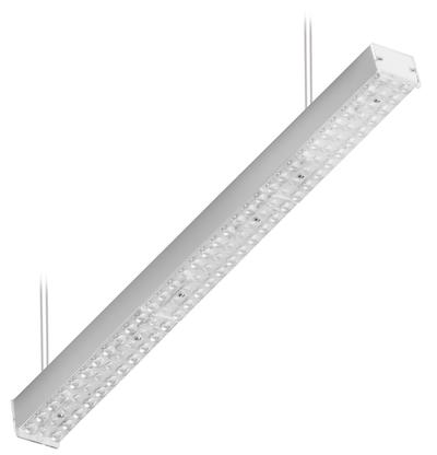 Светильник CSVT VOLGA 38Вт IP20 110° 865x69x63мм