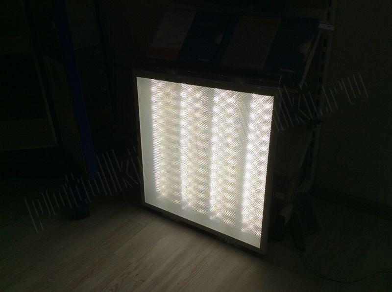 Светильник LED Operlux Prisma 34Вт 4000К 3100лм IP20 607х607x80мм