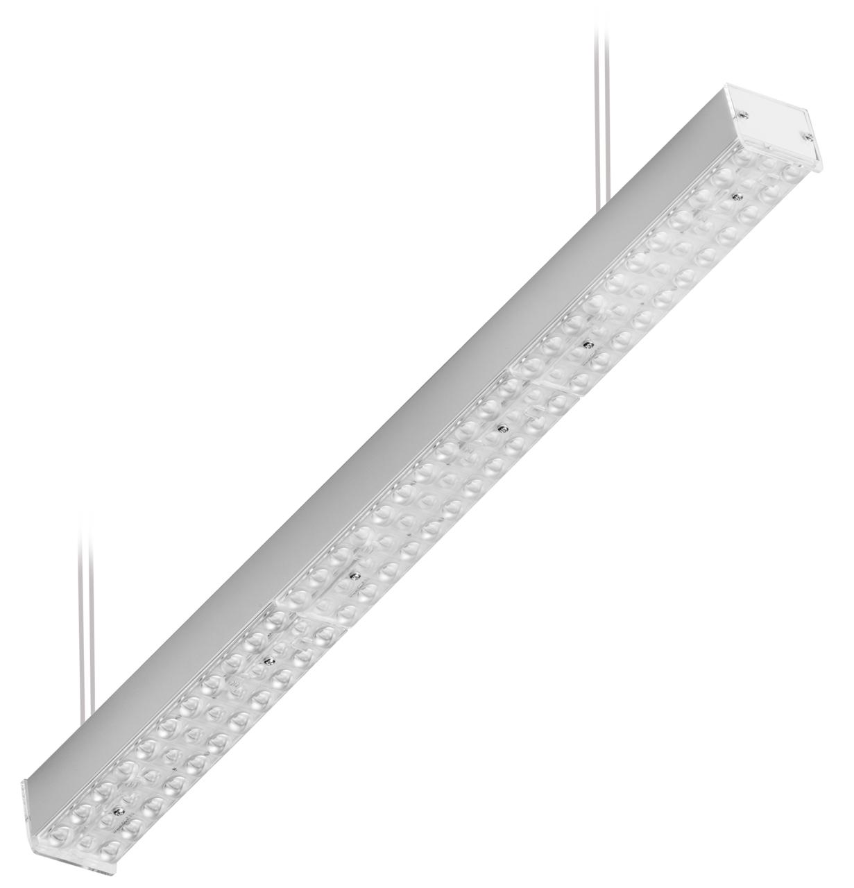 Светильник LED Volga 110° 76Вт 9600лм 4000К/5000К IP20 1152х69х63мм