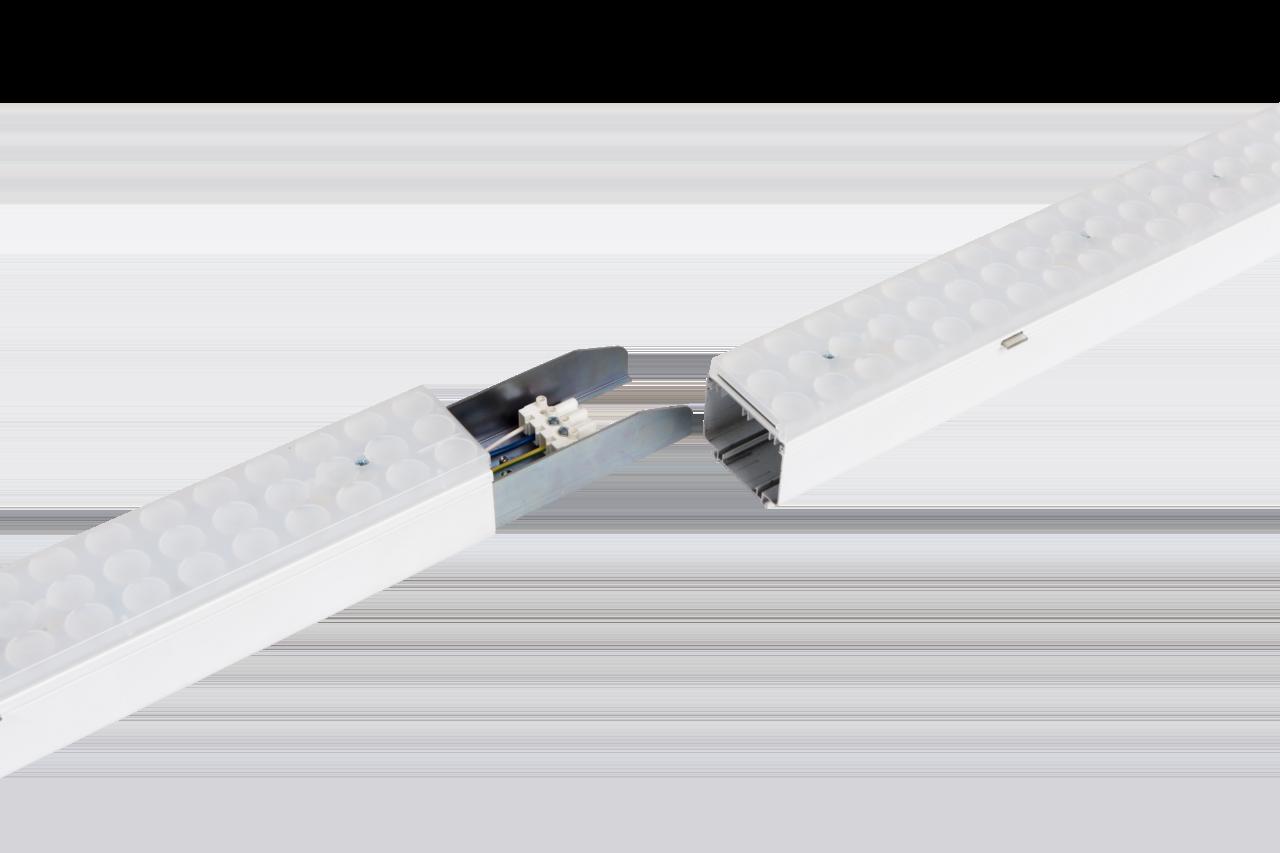 Светильник CSVT VOLGA-EU/L 50Вт IP40 110° 1150x63x74мм промежуточный в линии