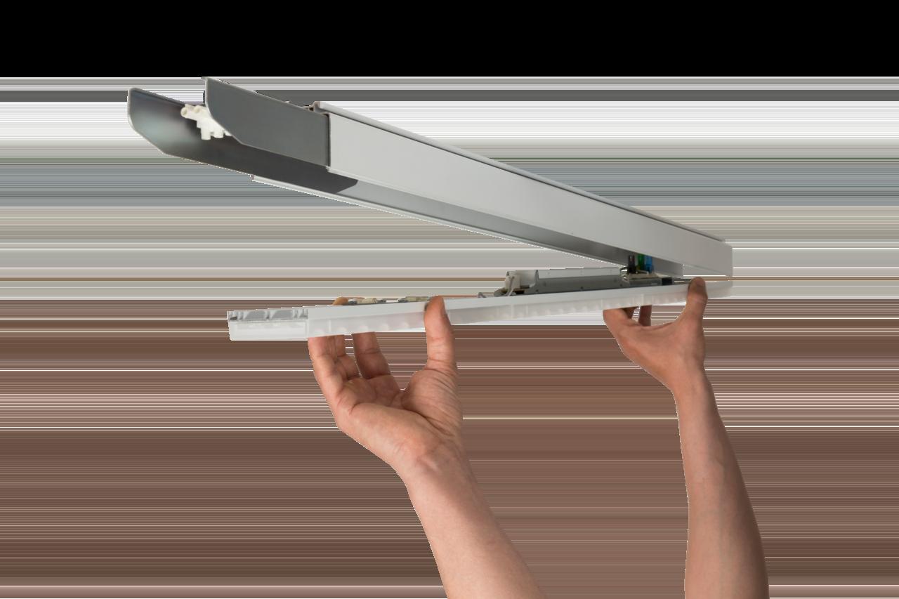Светильник CSVT VOLGA-EU 38Вт IP40 110° 864x63x74 первый в линии