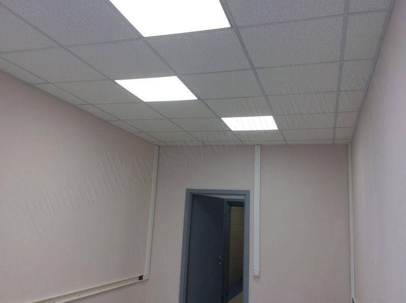Светильник ультратонкий LED 36Вт 4000К 2400лм 595х595x10мм